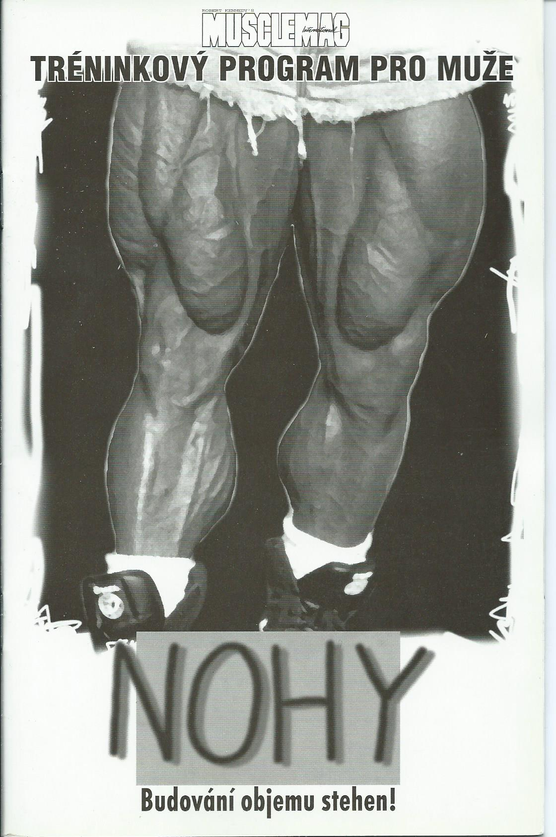 Musclemag - Nohy